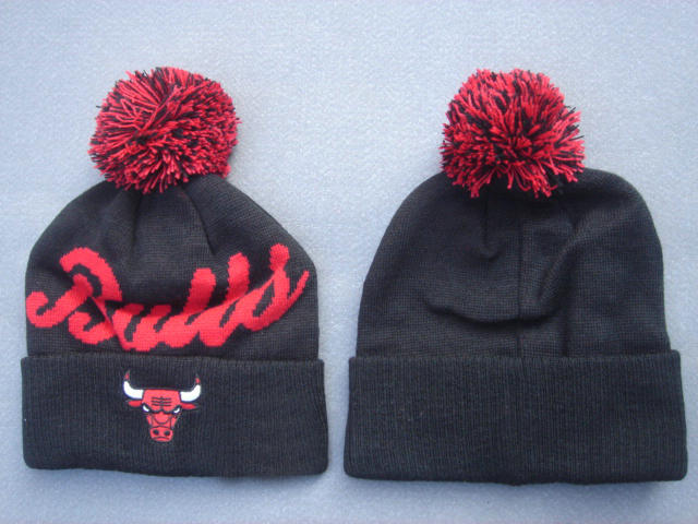 NBA Chicago Bulls Black Beanie 2 SF